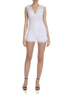 Ermanno by Ermanno Scervino - Jumpsuit in white broderie anglaise