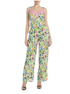 Ermanno by Ermanno Scervino - Multicolor sleeveless floral jumpsuit