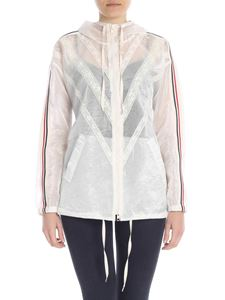 Ermanno by Ermanno Scervino - Transparent effect jacket with lace inserts