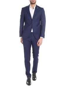 L.B.M. 1911 - Two-buttoned suit in blue wool