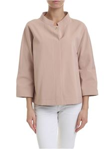 Herno - Cotton blend jacket in powder pink