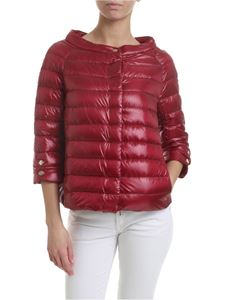 Herno - Elsa down jacket in cherry red
