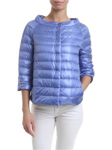 Herno - Elsa down jacket in indigo blue