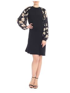 N° 21 - Floral midi dress with puff sleeves