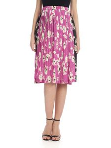 N° 21 - Pleated floral skirt in pink