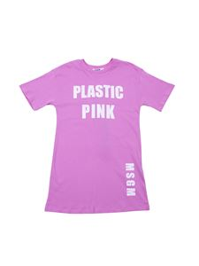 MSGM - Plastic Pink dress in pink