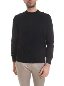 Paul Smith - Pullover in puro cotone nero
