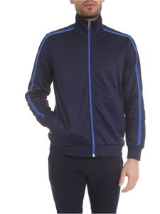 Paul Smith - Sweatshirt in blue technical fabric