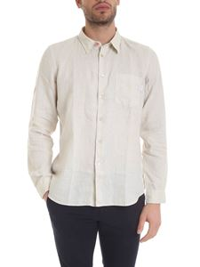 Paul Smith - Shirt in cream color with front pocket