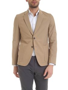 Paul Smith - Single-breasted cotton jacket in camel color