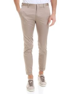Paul Smith - Pure cotton trousers in beige