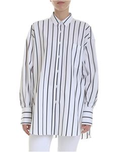 Ermanno Scervino - Striped shirt in black and white
