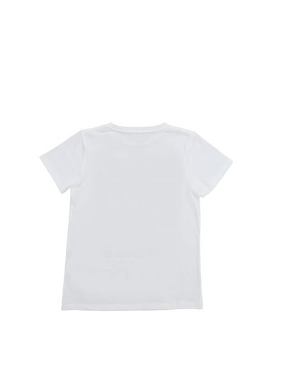 f5cb0d81 Gucci Spring Summer 2019 t-shirt in white with logo prints - 547559 ...