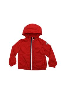 Moncler Jr - New Fronsac jacket in red with hood