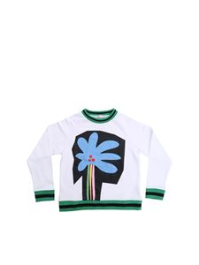 Stella McCartney Kids - Graphic Palm sweatshirt in white
