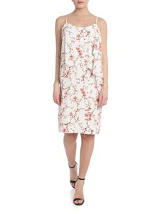 Ralph Lauren - White dress with floral pattern