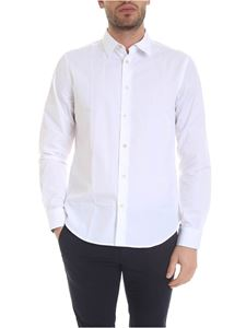 Paul Smith - Shirt in pure white cotton