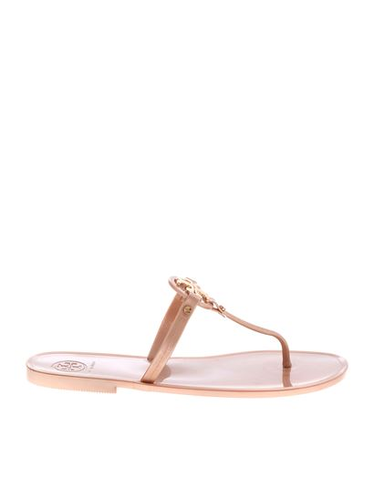a1c6a69ca Tory Burch Spring Summer 2019 mini miller thong sandals in pink ...