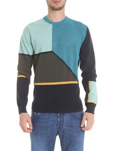 PS by Paul Smith - Pullover in cotone color block
