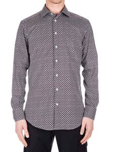 Etro - Multicolor shirt with white and burgundy pattern