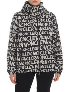Moncler - Hanoi Moncler-motif jacket in black