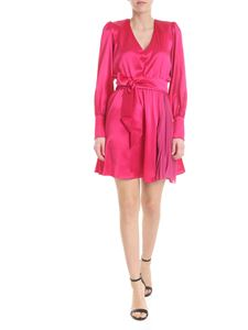 Federica Tosi - Dress in fuchsia with pleated detail
