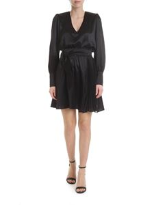 Federica Tosi - Dress in black with pleated detail