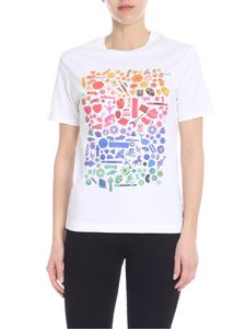 PS by Paul Smith - White T-shirt with multicolor print