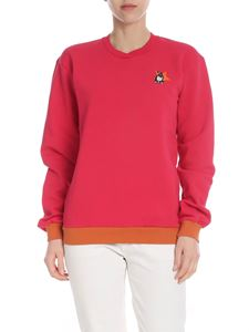 PS by Paul Smith - Fuchsia sweatshirt with Lucky Star patch