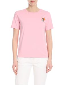 PS by Paul Smith - Pink T-shirt with Lucky Star patch