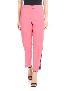 PS by Paul Smith - Light wool trousers in pink wool
