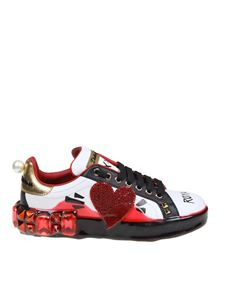 Dolce & Gabbana - Portofino Melt sneakers in white
