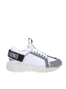 Moschino - Teddy Run sneakers in white with logo detail