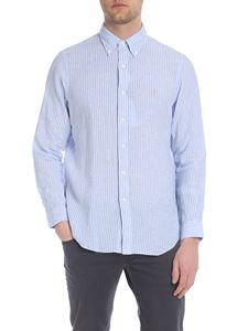 Ralph Lauren - Shirt in white and light blue stripes