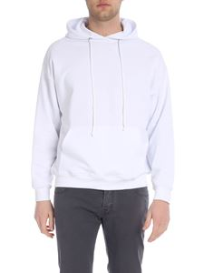 LES (ART)ISTS - White hoodie with Les Artist print