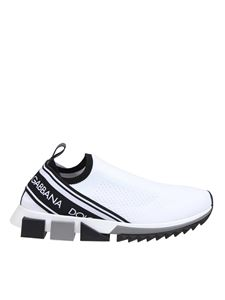 Dolce & Gabbana - Sorrento sneakers in white and black