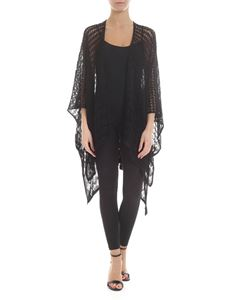 Missoni - Openwork knit cardigan in black
