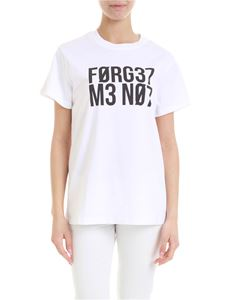 Red Valentino - Forget Me Not t-shirt in white