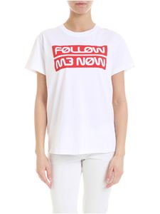 Red Valentino - Follow Me Now t-shirt in white