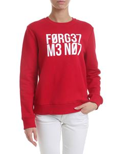 Red Valentino - Forget Me Not sweatshirt in red