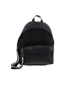 Dsquared2 - Black backpack with contrasting logo details