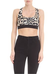 Paco Rabanne - Sporty top with animal print
