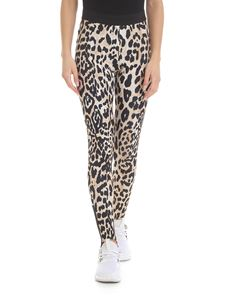 Paco Rabanne - Animal printed leggings