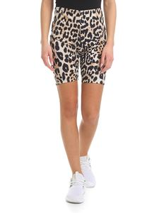 Paco Rabanne - Shorts with animalier pattern