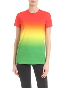 Paco Rabanne - T-shirt in multicolored stretch viscose