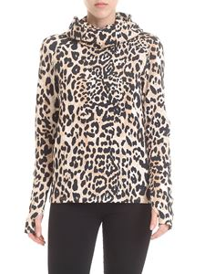 Paco Rabanne - Sports shirt with animalier pattern