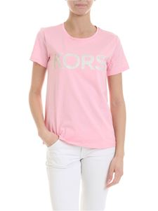 Michael Kors - Kors printed t-shirt in pink