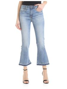 R13 - Jeans Kick in light blue