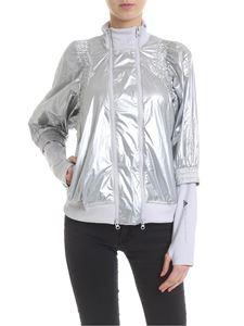 Adidas by Stella McCartney - Met jacket in silver colored