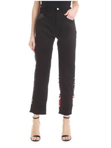 Iceberg - Black jeans with sequins